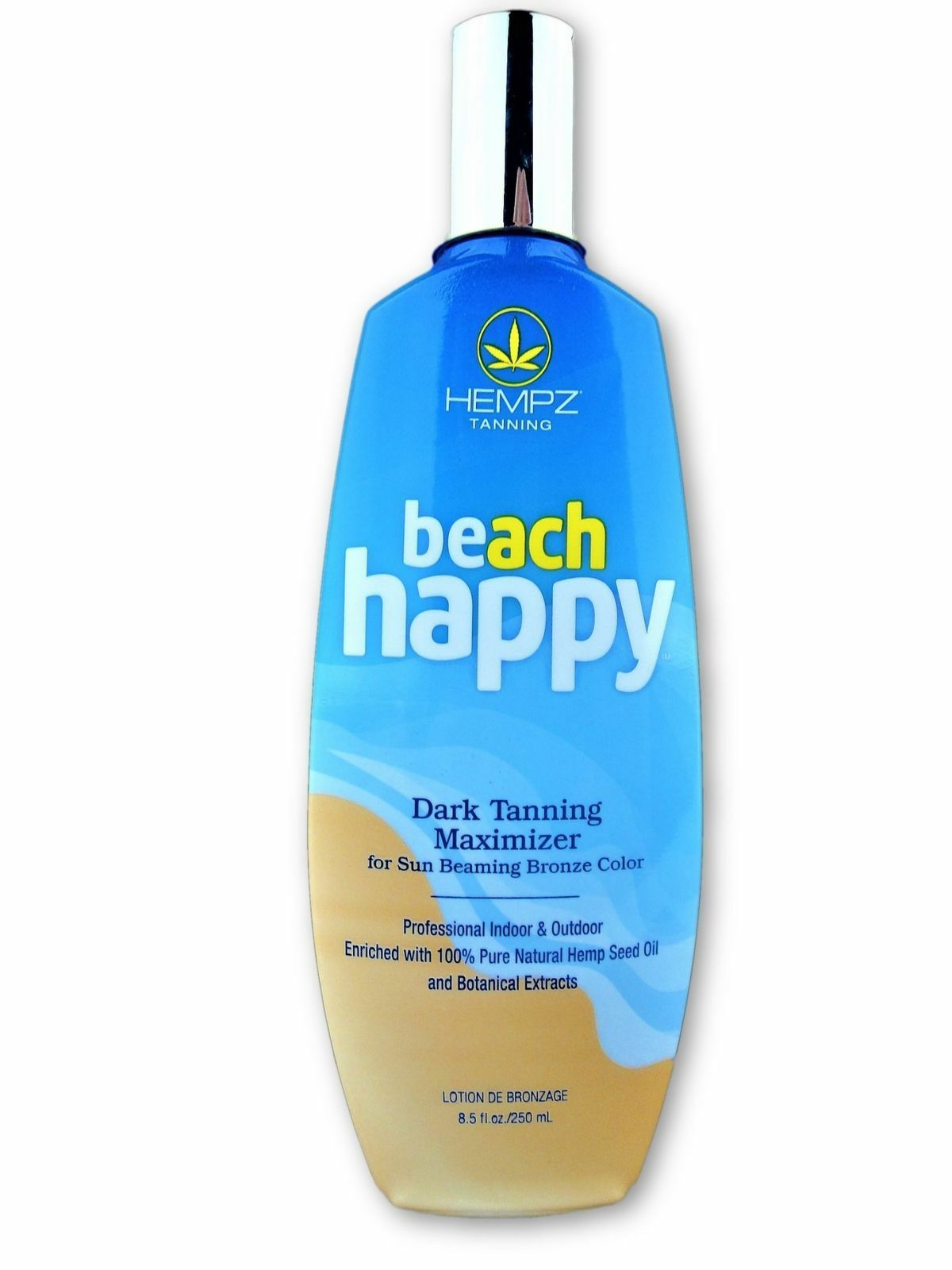 Hempz Beach Happy Dark Tanning Maximizer Indoor Tanning Bed