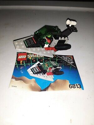 VTG 1993 Lego Space Police II Galactic Chief (6813) 100% Complete w/1 MF & Instr