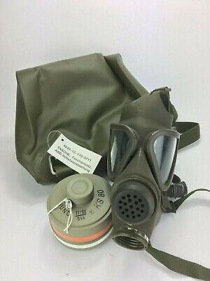Gasmaske M65 Z Gasmaskentasche Gasmaskenfilter Filter ex Bundeswehr for sale  Shipping to Ireland