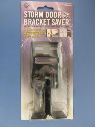Innovative Product Solutions Storm Door and Bracket Saver Black  #A-2B  NEW