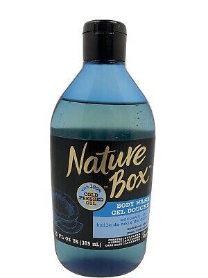 Nature Box Body Wash Gel Douche Coconut Oil 13 Oz