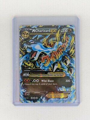 2014 PokemonXY Flashfire Mega M Charizard EX 69/106 Holo Ultra Rare NM