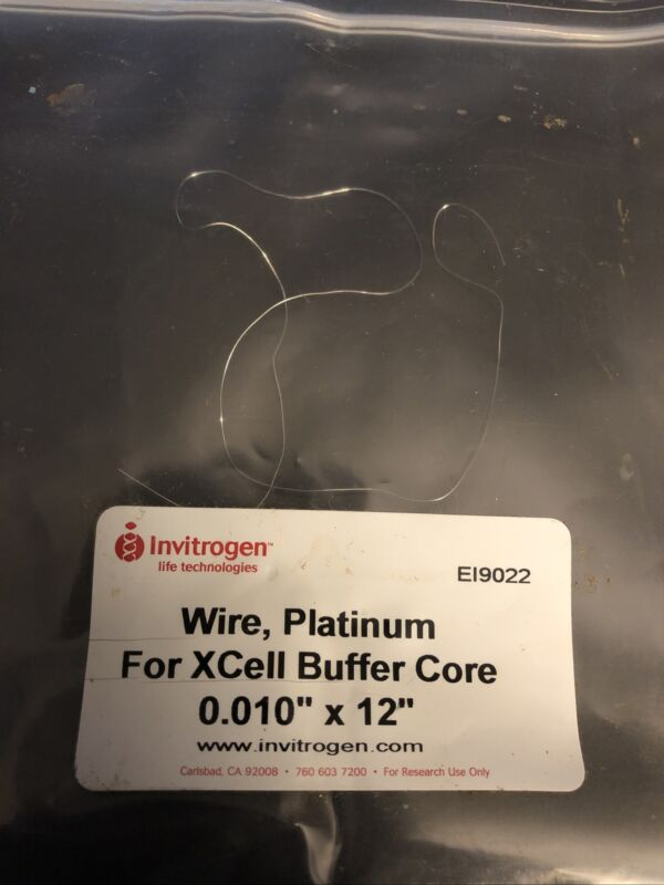 "Invitrogen™ Platinum Wire for the XCell Buffer Core EI9022 0.01"" X 12"""