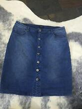 Jeans west skirt size 16 Dulwich Hill Marrickville Area Preview
