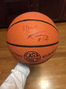 Signed Vince Carter junior basketball