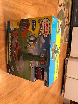 Thomas and Friends Take-n-Play Cranky at the Docks Portable Train Playset (Thomas And Friends Cranky At The Docks)