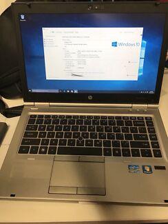 HP ELITEBOOK LAPTOP Notebook WINDOWS 10 Intel Core i7 2.7Ghz 8GB RAM