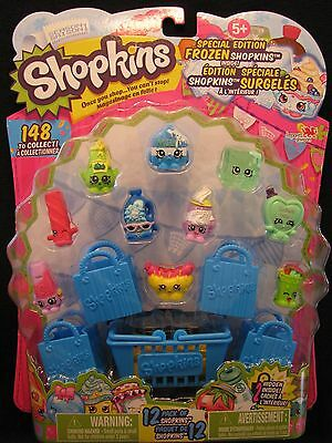 Season1, Shopkins Special Edition Frozen 12 Pack of Shopkins, Green Cool Cube
