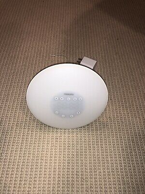 Philips Wake Up Light Sunrise Simulation Alarm Clock Radio HF3505 - Used
