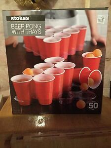 Beer pong set - new/never opened