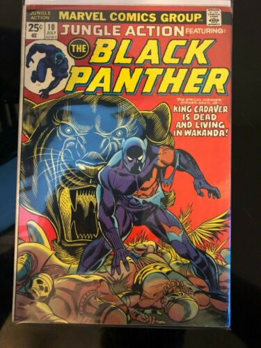 Jungle Action Black Panther #10