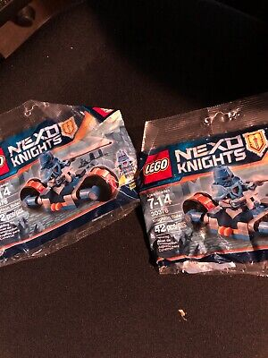 lot of 2 new LEGO 30376 NEXO Knights Knighton Ridge NEW & Sealed Polybag sets