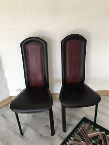 Set of 6 dining chairs Chatswood West Willoughby Area Preview