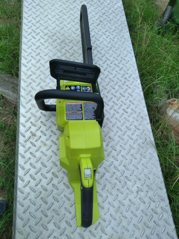 Ryobi RY40503 14 In 40 Volt Battery Brushless Lithium-Ion Chainsaw Tool Only