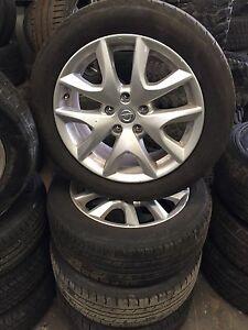 Nissan tyres &a rims- 215/55R17 -94 V Rocklea Brisbane South West Preview