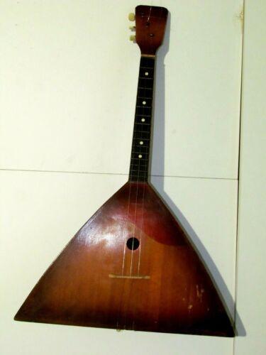 Vintage Balalaika Lunacharsky made in Leningrad 1963 3 string  SV