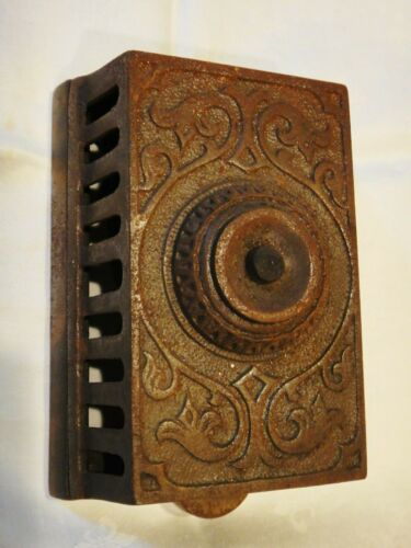 Vintage Cast Iron Doorbell by PARTRICK, CARTER & CO. of Philadelphia, PA
