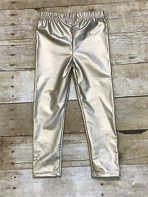 Baby Girls Gold Leggings Pants Size 12-24 Months New boutique Style](Girls Gold Pants)