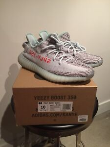 Adidas Yeezy Boost 350v2 Blue Tint Size 10