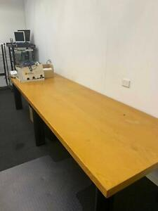 Long Wood Table- about 3M Smithfield Cairns City Preview
