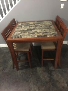 5 Piece Counter-Height Table And Chairs Set
