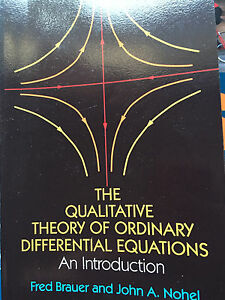 UAlberta - Qualitative theory of differential equations.
