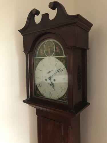 Irish or English Grandfather Clock Tall Case Clock 18th century
