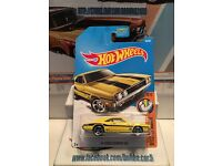 Hot Wheels Muscle Mania Series Mooneyes 69 Dodge Charger 500 YL 1//64th die cast