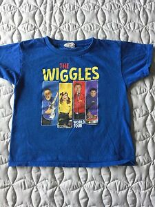 The Wiggles T-Shirt Size 6 (from the real live show)
