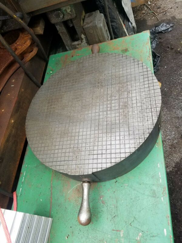 Challenge USA 18 inch round lapping plate