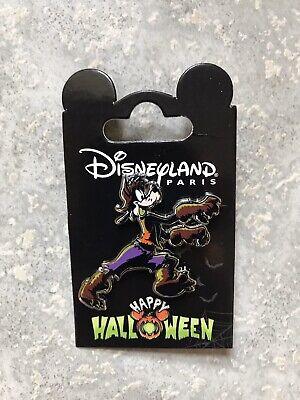 DLP DLRP Disney Disneyland Paris Halloween Goofy Werewolf Pin 2019