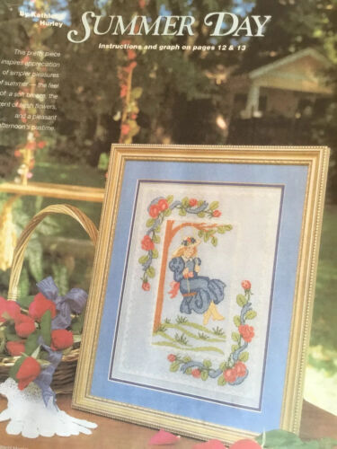 Counted Cross Stitch Pattern Summer Day - $2.50