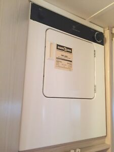 GE electric apartment size dryer