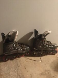 Size five rollerblades need gone ASAP