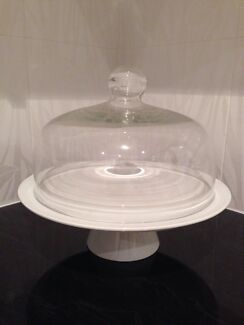 Cake stand with glass dome Mount Gravatt East Brisbane South East Preview