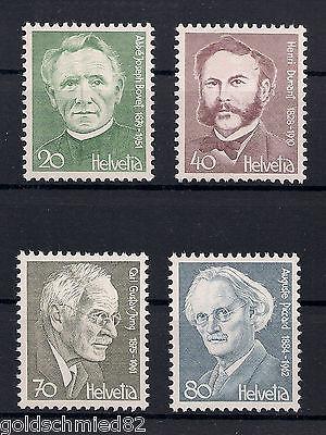 Schweiz - 1978 - Mi. Nr. 1137-1140 - Postfrisch