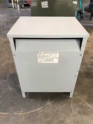 Square D 15t3h 15 Kva 480 To 208120 Transformer