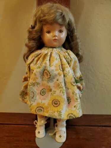 Shirley Temple Bisque Doll - $11.50