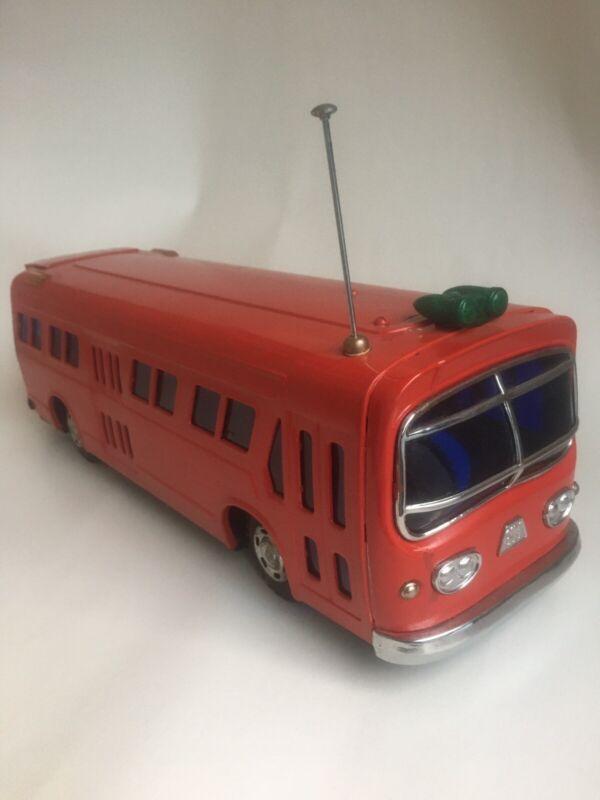 VINTAGE MODERN TOYS GM BUS TIN MODEL TOY JAPAN 1960S