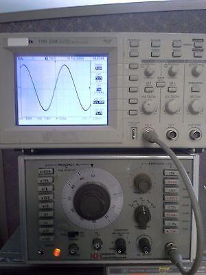 Krohn-hite 5400b Function Generator 5mhz To 5mhz Tested 30v P-pk 70db Attenuator