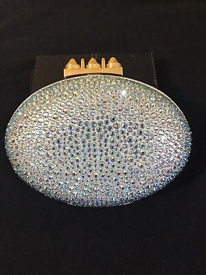 Christian Louboutin Swarovski purse Mina clutch crossbody bag