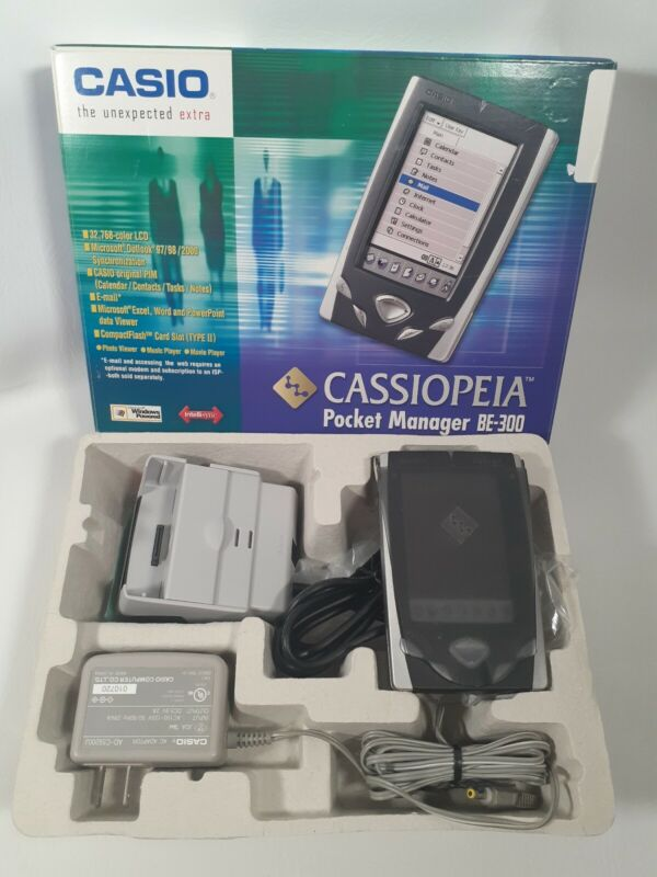Casio BE-300 Pocket Manager (Cassiopeia#079767696948) Japan