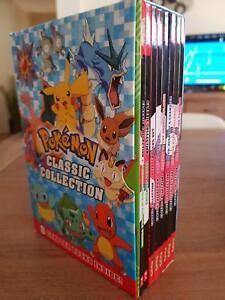 Zac power, Goosebumps, Captain underpants, & Pokemon. All sets