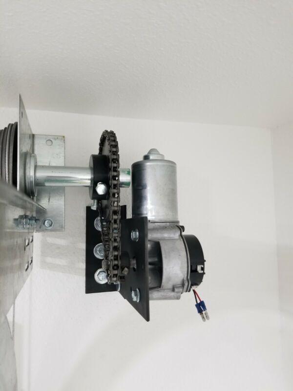 Side Mount Conversion kit Do it yourself Garage door opener Jackshaft