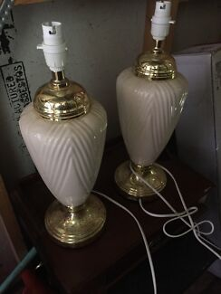 Matching deco lamps