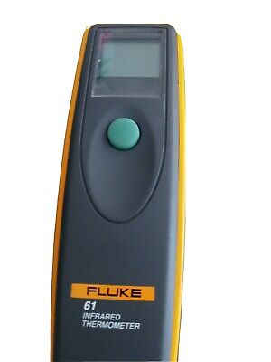 Tested Working Fluke 61 Handheld Infrared Temperature Thermometerwith Manual