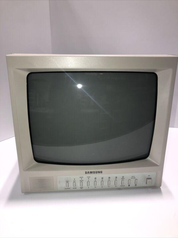 Vintage Samsung Surveillance Camera CCTV Color Video Monitor Model SOD14M