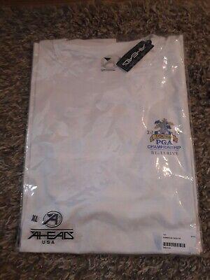 Ahead Men's Short Sleeve White T-Shirt XL 2018 PGA Championship Faded Design (Championship T-shirt Designs)