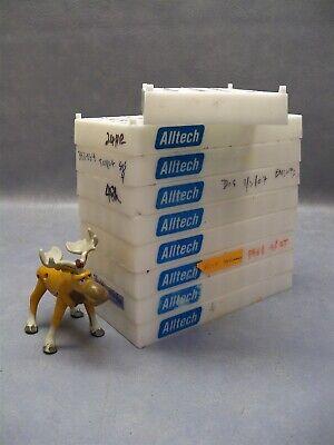 Vial Rack 5x10 Alltech Holds 50 Vials Lot Of 9