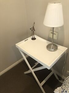 pair bedside lamps by IKEA